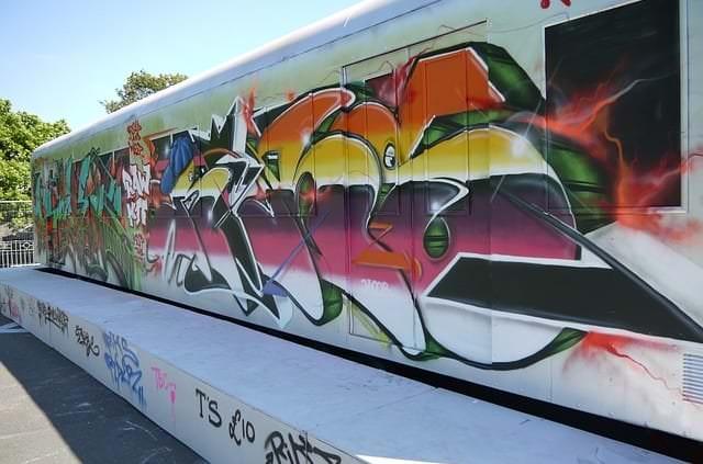 Graffitientfernung 7