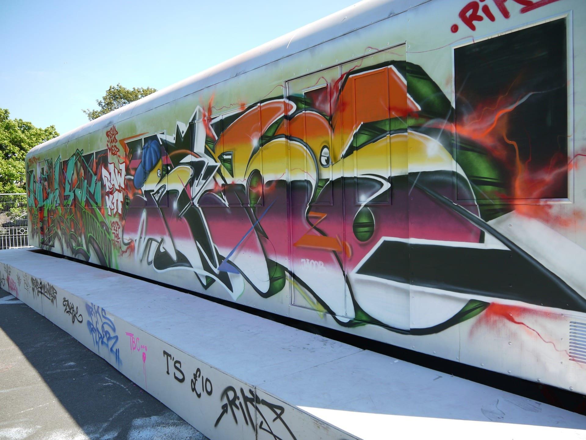 Graffitientfernung 1